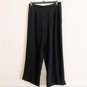 DANA KAY formal wide leg soft back zip pant 16W